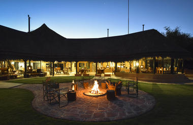 Okonjima Luxury Bush Camp Evening Fire Pit